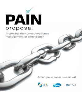 Pain Proposal – Improving the current and future management of chronic pain