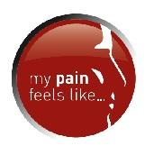 Feel my pain logo
