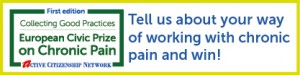 Tell us about your way of working with chronic pain and win!