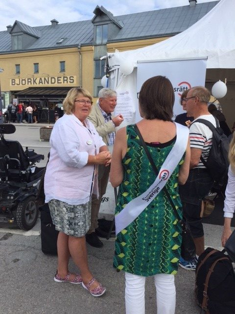 Marie-Louise Olsson -Almedalen week 2017